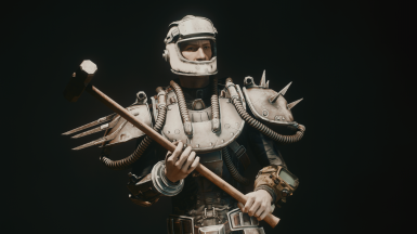 Fallout 4 Capital Wasteland Classic Metal Armor