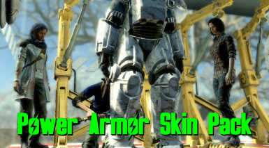 PASK - Power Armor Skin Pack