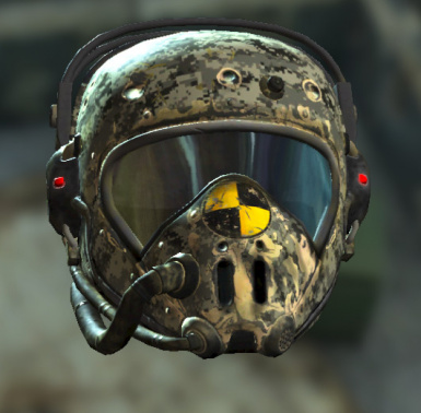 yellow flight helmet to acu camo