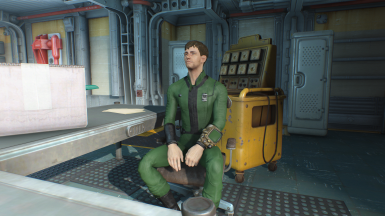 Horizon - Vault 81 Jumpsuit Reversion