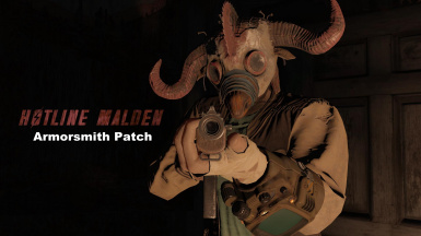 Hotline Malden Armorsmith Patch