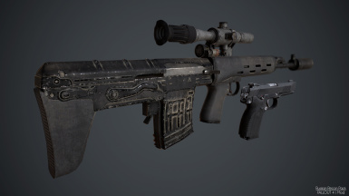 Russian Recon Pack - SVU and MP443 - Chinese Translation