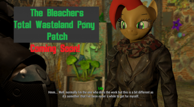 Coming Soon! Total Wasteland Pony Patch!