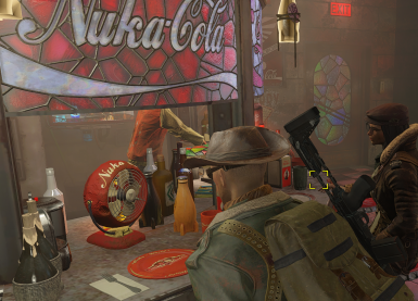 A chat with DP, over a cold Nuka Cola