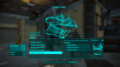 Ballistic Weave your Vault Suits