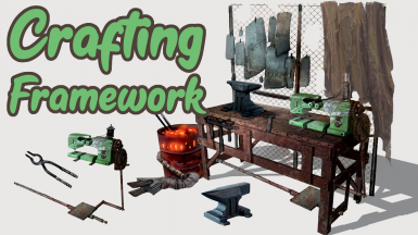 Crafting Framework - Armor . Power Armor . Weapons . Legendaries