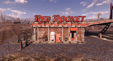 Mighty Clean Settlements - Red Rocket