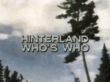 Hinterlands Who's Who Discovery Sound