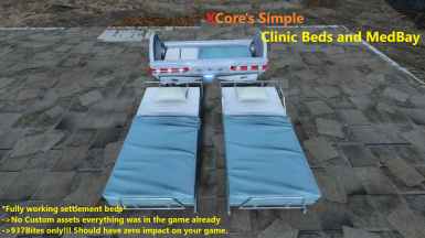KCore's Simple - Clinic Beds and MedBay
