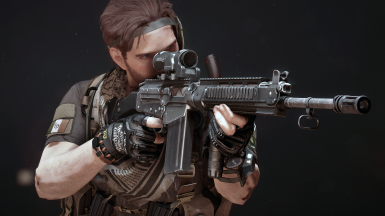 Vertical foregrip animations, screenshot by BigLO