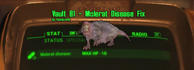 Flashy(JoeR) - Molerat Disease Fix