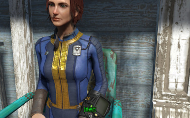 more defined vanilla vault suit at fallout 4 nexus mods and community