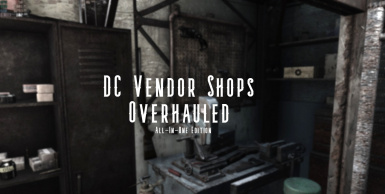 DC Vendor Shops Overhauled
