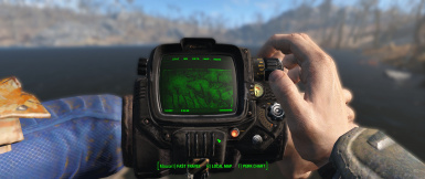 Pipboy DOF enabled