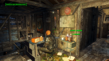 Gabriel waits for the weekly radio report from one of the other settlements. Setting up an emergency call network to warn each other and call for help was Lucy's idea when she learned about the minutemen radio.