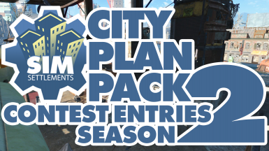 Sim Settlements City Plan Pack - Season 2