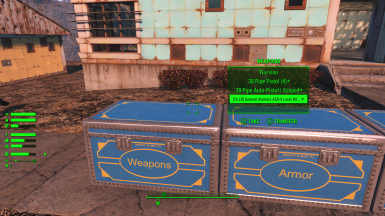 Added Weapons and Armor Chests
