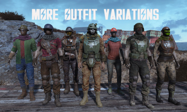 More Outfit Variations -FRENCH-