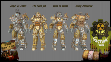 v1.0.6 - Four types of Power Armor for your special units