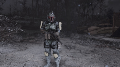 Just a common Bounty Hunter
