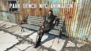 Park Bench NPC animation fix