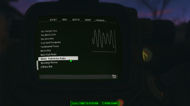 View from the Pip-Boy