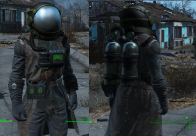 Helmet and Tank over Drifter Outfit