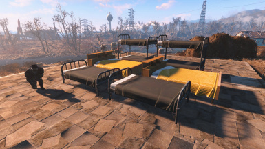 Better Settlement Beds At Fallout 4 Nexus Mods And Community