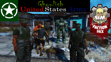 Ghoulish United States Army