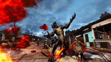 Even Deathclaws are no match for the US Army