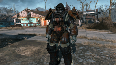 Raider Power Armor Evolution