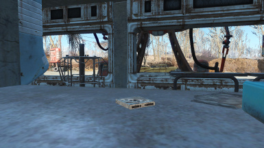 Where to find the holotape (FO3 Holotape Replacer mod used, not required but recommended if you like the aesthetic)