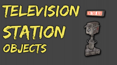 Television Station Set - For Newsrooms and Propaganda
