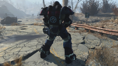 Ultracite Power Armor (Back)
