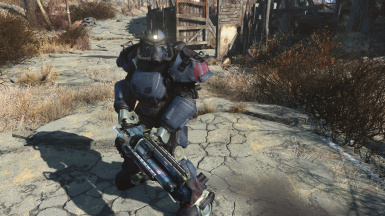 Ultracite Power Armor (Headlamp in Action)