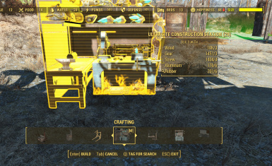 Construction Station in Build Menu