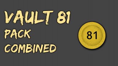 Vault 81 Pack Combined