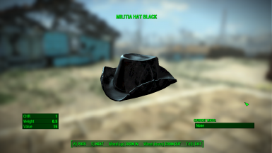 Militia Hat Black