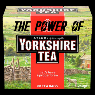 The Power of Yorkshire Tea