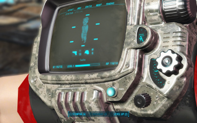 LED Camo Pip-Boy Deluxe (Clean-New-PipBoy)