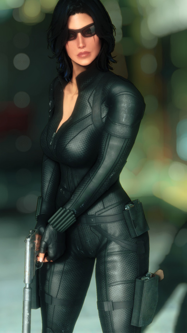 Black Widow Suit - CBBE - Body Slide
