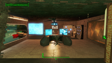 Settlement Blueprint for Brick Vault Bunker mod
