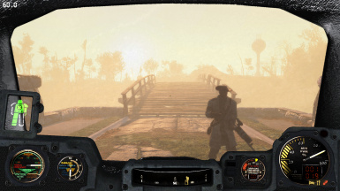 Immersive and Clever Power Armor HUD Dials and Gauges (WIP)