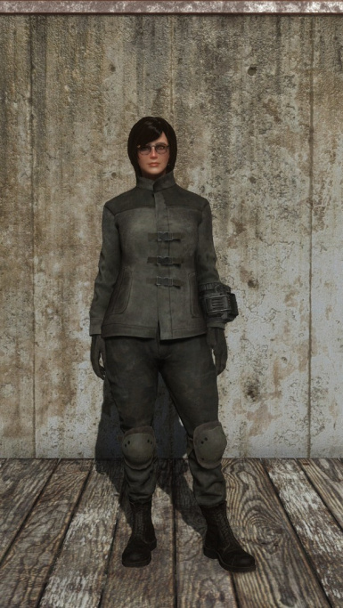 mercenary jacket B