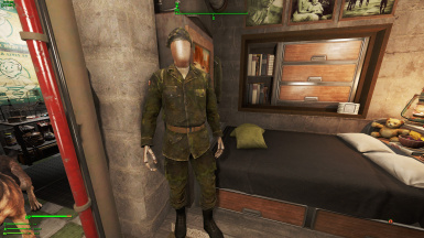 Canadian Army Fatigues (found in Covert Bunker)