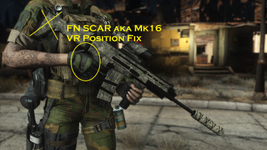 FN SCAR Mk16 - VR Position Fix