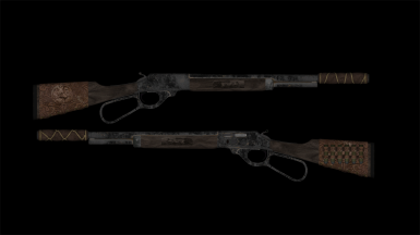 Reb's Fox Lever Action Rifle