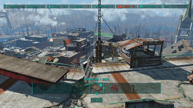 All visible rooftops are accessible