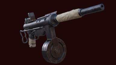 Grease Gun SMG - 9mm Patch