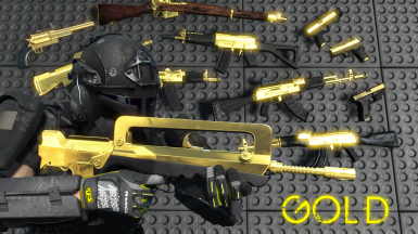 Gold Plated Weapons